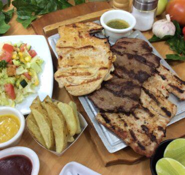 tabla de tres carnes