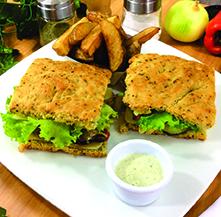 Sandwiches mediterraneo