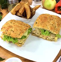 Sandwiches en salsa bechamel