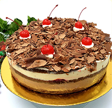 torta de selva negra
